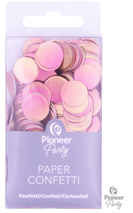 Pioneer Party Gold/Rose Gold Ombre Card Confetti 20g
